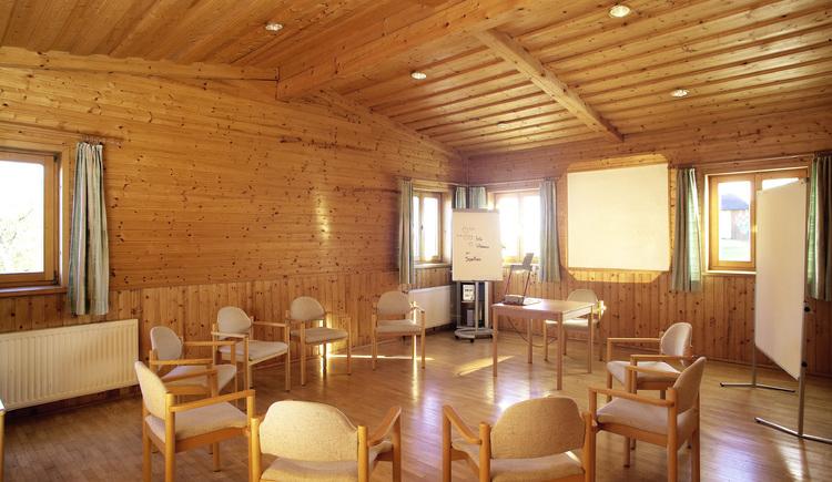 Landgasthof und Seminarhotel Kobleder in Mettmach - Seminarraum. (© Seminarhotel Kobleder)