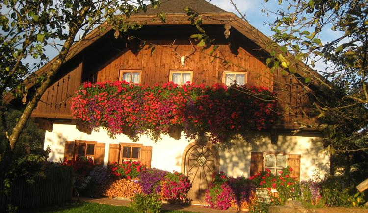 Ostansicht Landhaus Leitner. (© Fam. Leitner)