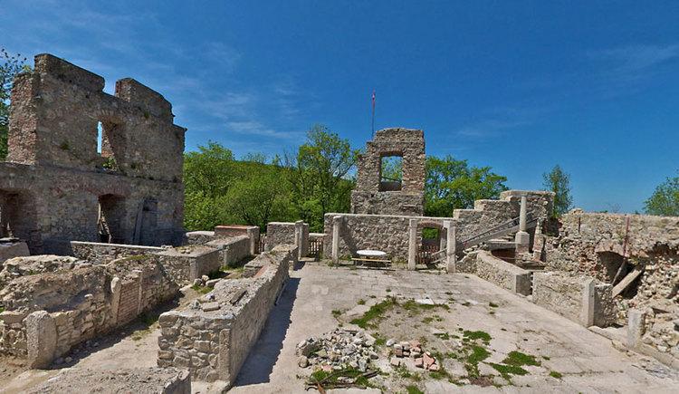 Ruine Seisenburg in Pettenbach im Almtal. (© Gerhard Fischer - www.panotour.at)