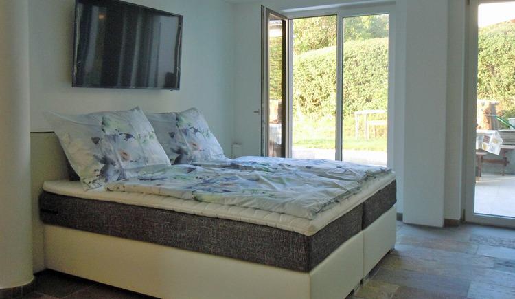 Apartment in Kammerl - Wohnschlafzimmer