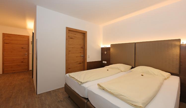Doppelzimmer Beispiel Hotel Der Kaiserhof Ried. (© Elisabeth Poringer)