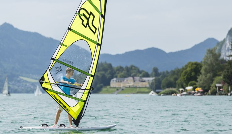 Sportcamp Raudaschl Windsurfen in Ried. (© Sportcamp Raudaschl)