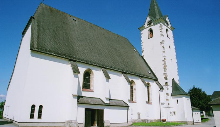 Mitterkirchen im Machland Kirche. (© TTG Tourismus Technologie)