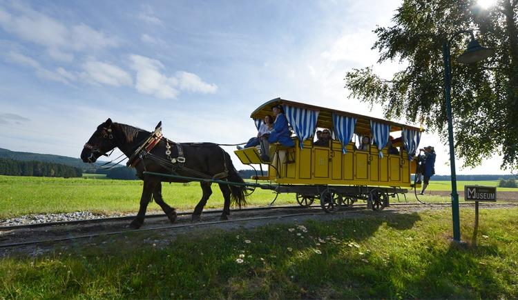 Pferdeeisenbahn Kerschbaum (© OÖTM Röbl)