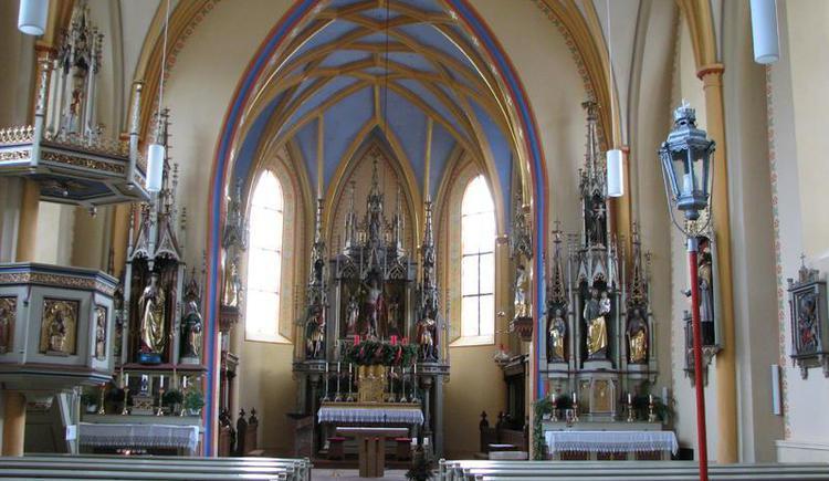 Innenraum - Altar
