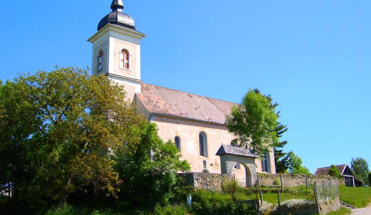 Kirche St. Anna in Steinbruch. (© Marktgemeinde Neufelden)