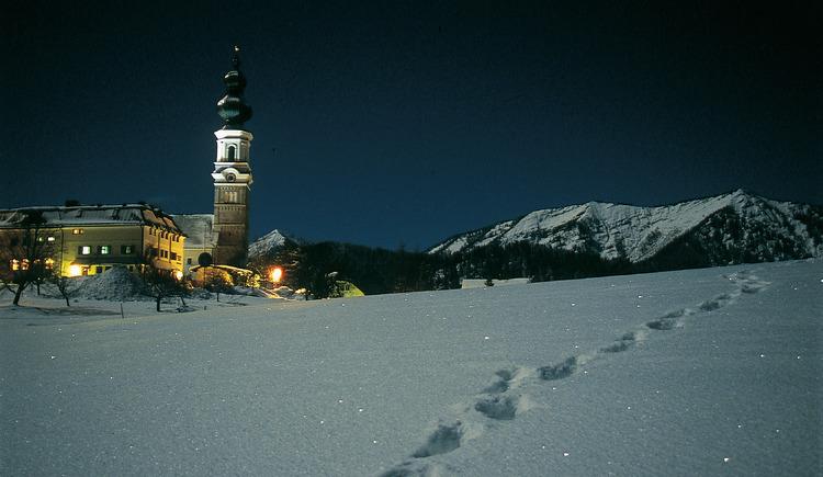 Dorf bei Nacht (© Tourismusverband Faistenau)