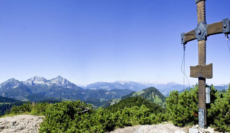 Panorama vom Wasserklotz im Nationalpark Kalkalpen (© TVB Pyhrn-Priel/Sulzbacher)