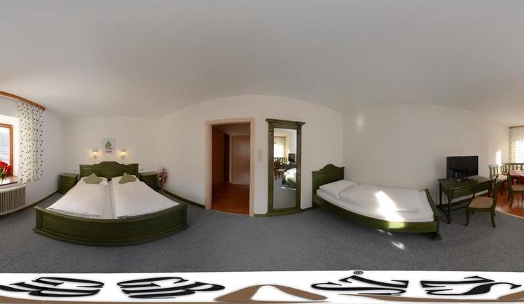 Zimmer im Hotel Botenwirt (© Stephanie David)