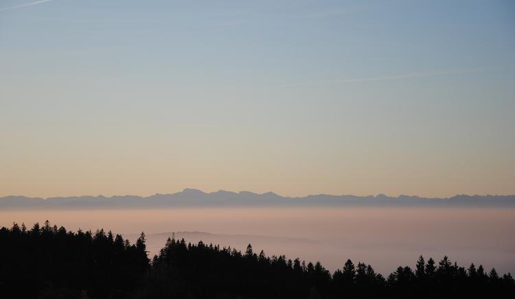 Alpenpanorama im Herbst (© TV Pfarrkirchen)