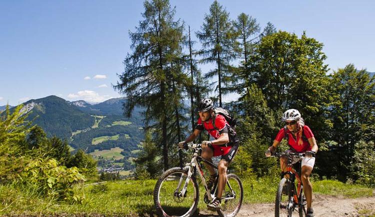 Das Salzkammergut Mountainbike Zentrum in Bad Goisern am Hallstättersee. (© OÖ Tourismus)