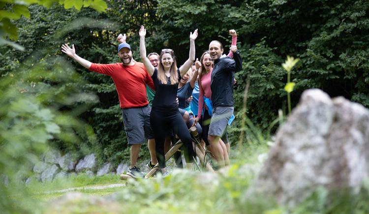 Gemeinsam ein Ziel erreicht (© Abenteuer Management - Hinteramskogler)
