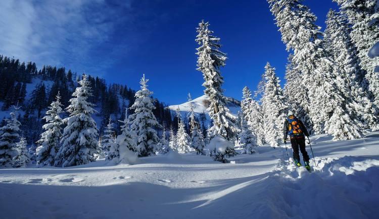 Skitour auf den Labenberg. (© Andreas Graf)