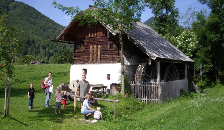 Waschl-M\u00fchle im Ort. (© Tourismusverband Ebenau)