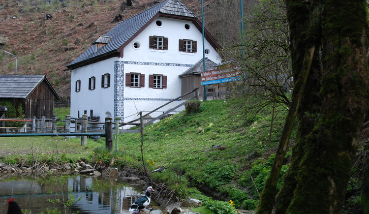The Anzenaumühle in Bad Goisern is a historical and cultural jewel