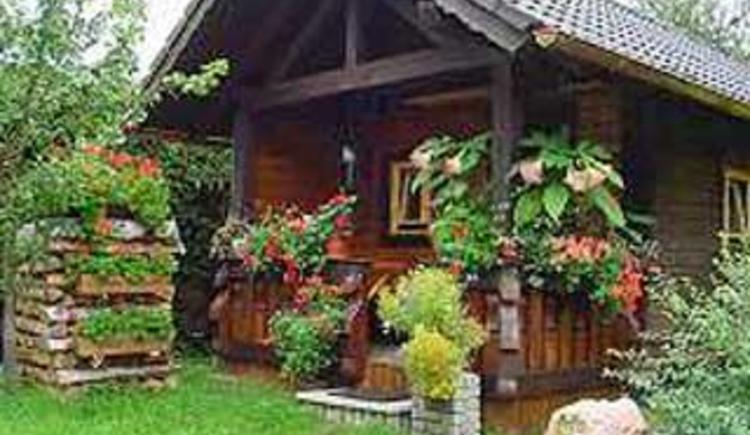 Gartenhaus (© Privatzimmer Eitelsebner)