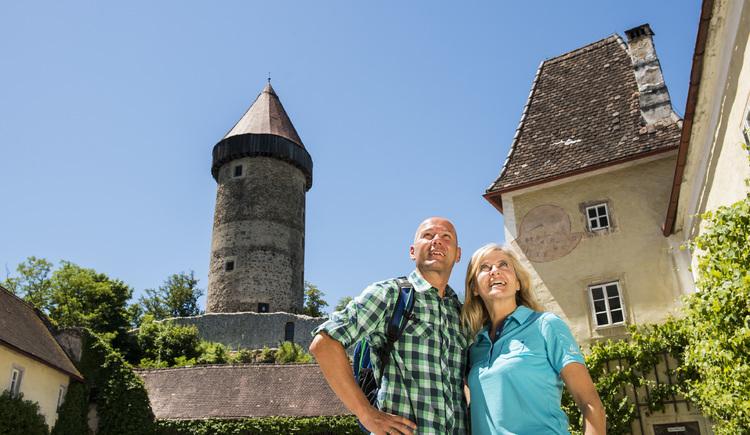Burg Clam Gemeinde Klam