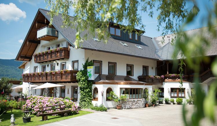 Blick auf die Pension Irlingerhof