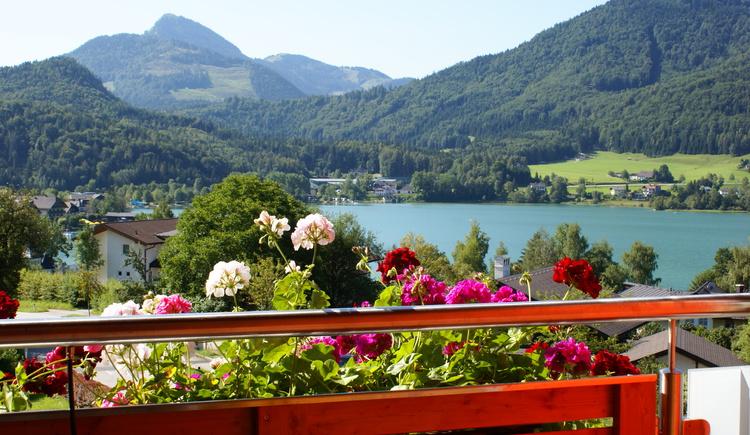 Ausblick Balkon (© Haus Bergblick)