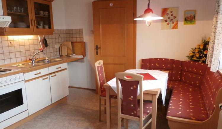 Küche in der Ferienwohnung Thymian