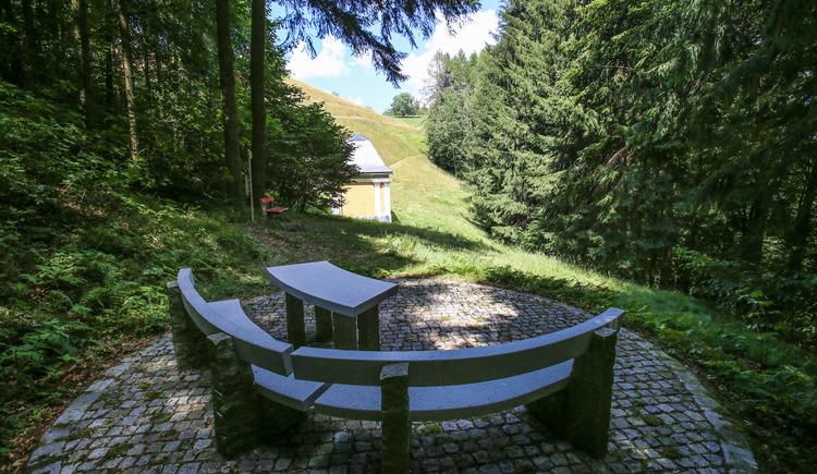 Pankrazkapelle | Sauwaldpanoramastraße (© WGD Donau Oberösterreich Tourismus GmbH/Weissenbrunner)