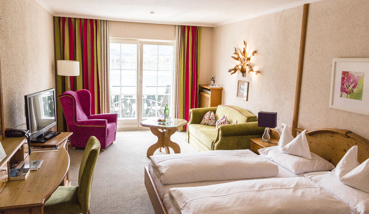 Doppelzimmer Seeblick (© Hotel Peter)
