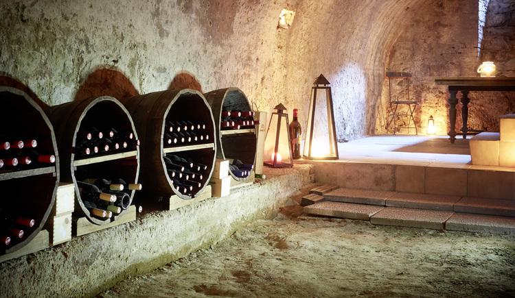 Wein- und Mostkeller Landgasthaus Lehnerwirt, Alkoven. (© WGD Donau Oberösterreich Tourismus GmbH-Peter Podpera)