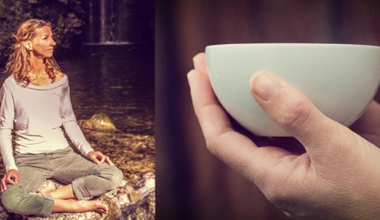 Meditation mit Sandra Kurz. (© Sandra Kurz)