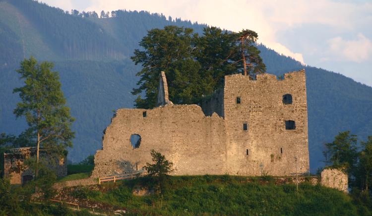 Landes-Jugendhaus Losenstein, Burgruine Losenstein. (© Land Oberösterreich)