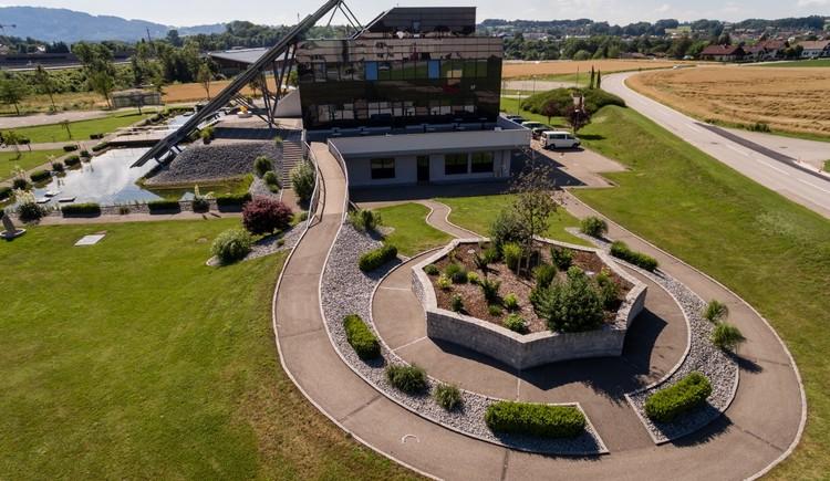 UEBEX Congresspark, Luftaufnahme West. (© UEBEX Congresspark GmbH)
