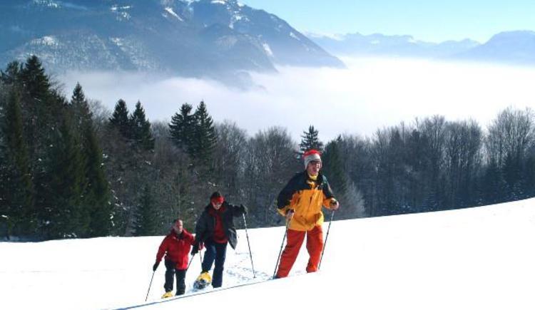 Schneeschuhwandern über den schönsten Bergen von Faistenau