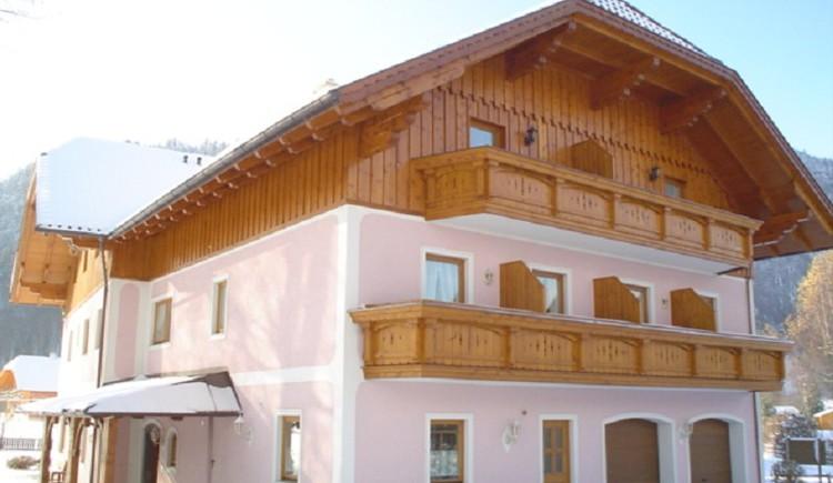 Haus Weissenbacher, Winter Hausansicht