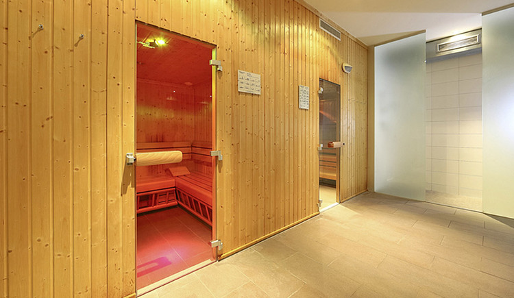 Sauna im Elite-Fitness in Linz-Leonding