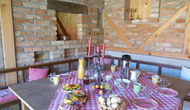 Oberhinteregger´s Bauernfrühstück (© Erlebnisbauernhof Oberhinteregg Faistenau)