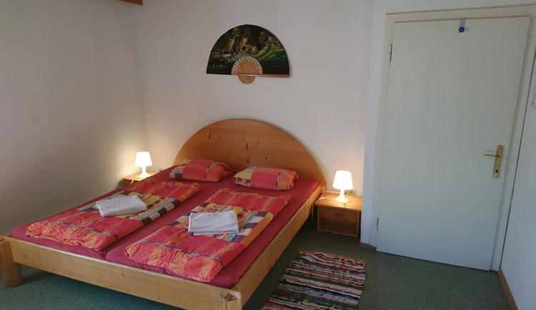 Doppelzimmer in der Sportpension Schober.