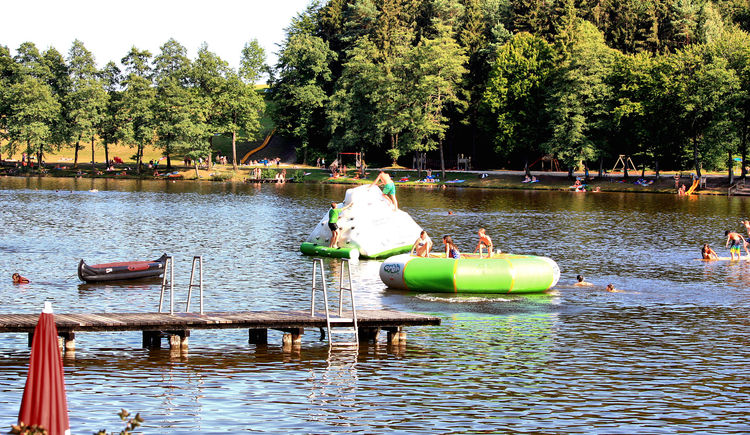 Strandbad Holzöstersee 6. August 2015. (© TV-Franking)