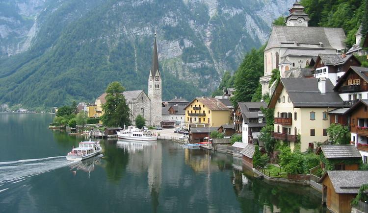 Schifffahrt, Hallstatt, Welterbe, Hallstättersee. (© Oberösterreich Tourismus)