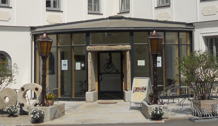 Sturmmühle Eingang