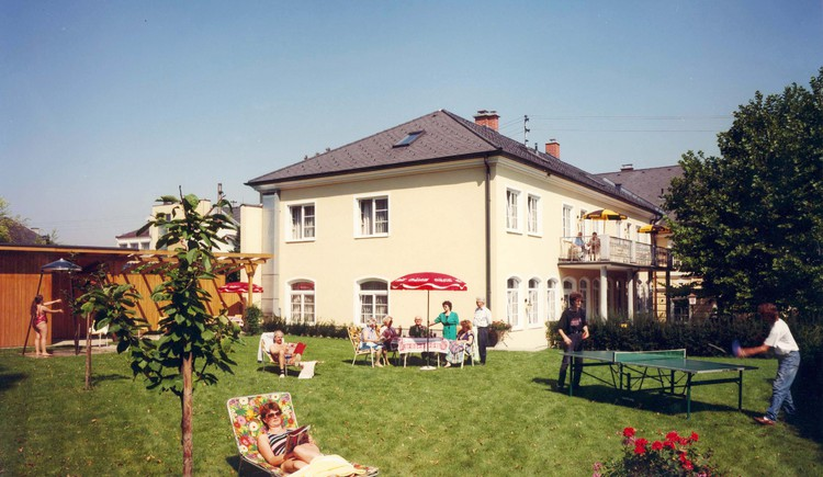 Hotel Hallerhof - Garten