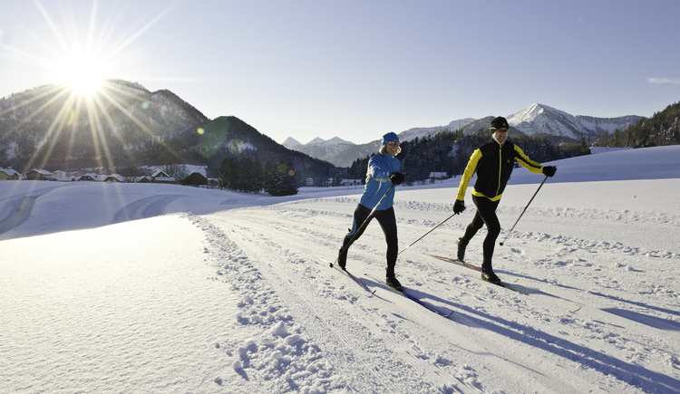 Cross-country skiing in Faistenau (© Fuschlsee Tourismus / Erber)