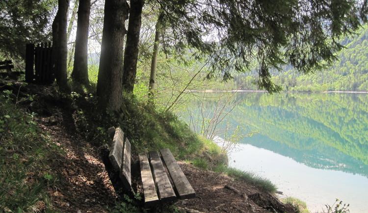 erholsame Stunden am Hintersee (© fuschlseeregion/hintersee/veronika/trinkl)