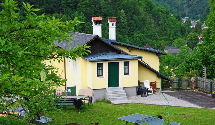das sonnige Ferienhaus im Grünen (© Tourismusbüro Ebensee, Gerhard Spengler)