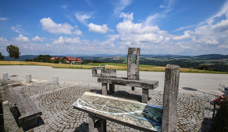 Panoramablick Untergriesbach (© WGD Donau Oberösterreich Tourismus GmbH/Weissenbrunner)