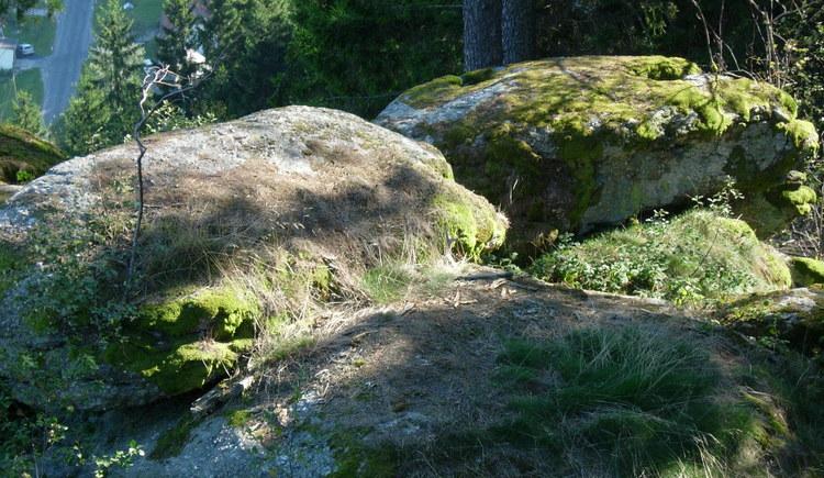 Opferschalen am Wolfsberg (© Mühlviertler Alm)