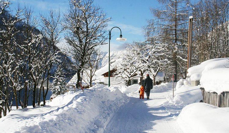 Winterwandern in Gössl (© Haus Annerl)