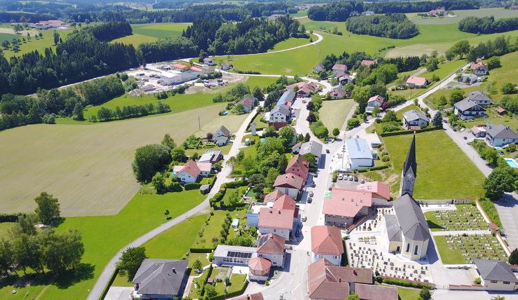 Waldkirchen von der östlichen Seite. (© Klapfenböck Alexander)