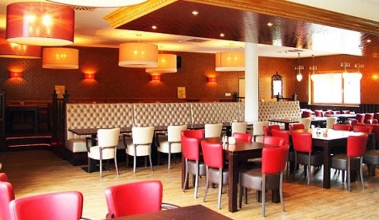 Blick auf das Restaurant. (© Resort Obertraun)