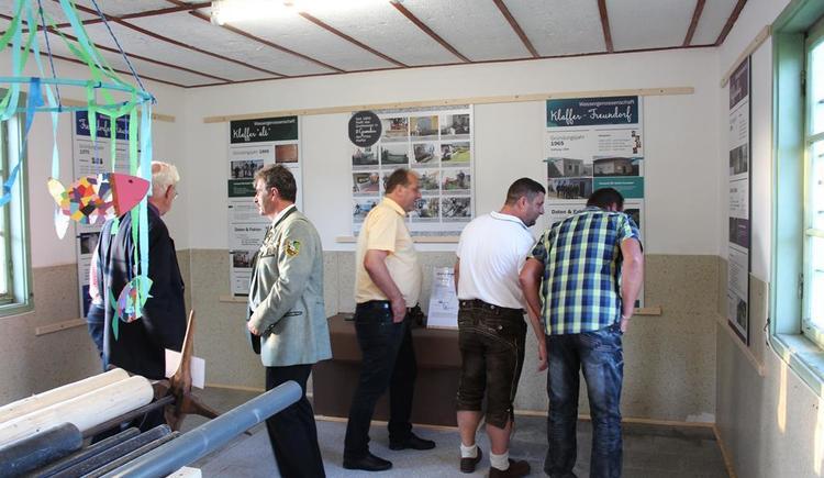 Wassermuseum - Eröffnung (© Gemeinde Klaffer am Hochficht)