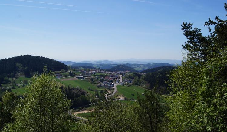 Ausblick Haiderberg (© Marktgemeinde St. Leonhard)