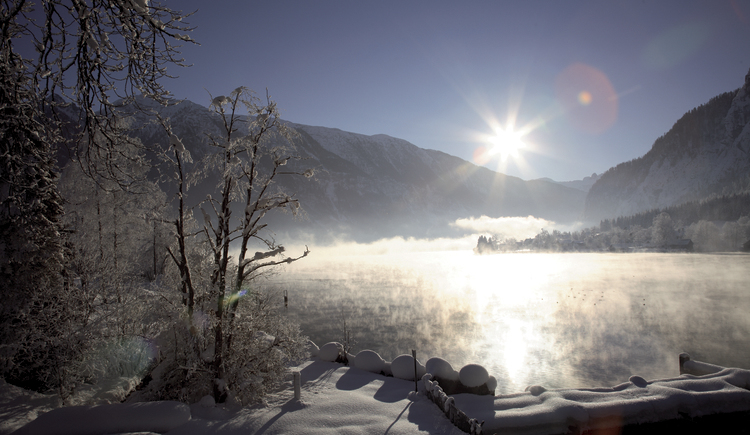 Seeromantik im Winter. (© Salzkammergut Tourismus-Marketing GmbH)